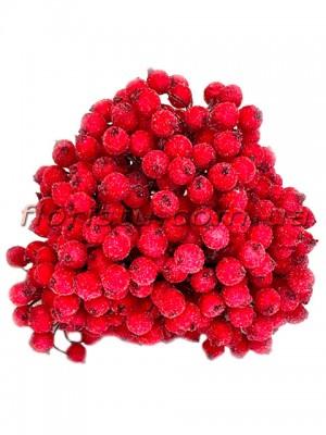 Ягоды калины в сахаре искусственные Красные 10 шт.