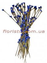 Веточки с тычинками искусственные Синие 50 шт.