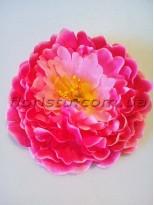 Головка пиона сочно-розовая 15 см