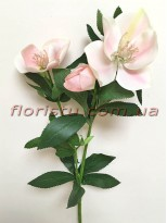 Хелеборус искусственный Светло-розовый 65 см