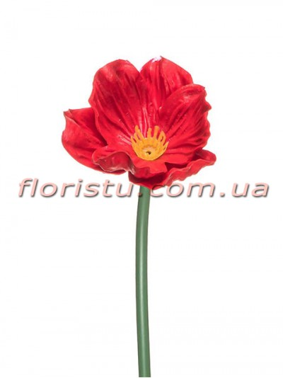 Мак латексный Красный 34 см