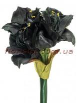 Амарилис латексный премиум класса Баклажановый 78 см