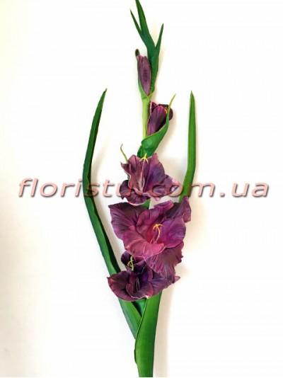 Гладиолус латексный премиум класса Фиолетовый 1 м