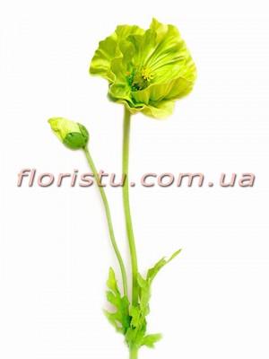 Мак латексный премиум класса Зеленый 60 см гол. 13 см