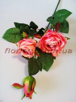 Роза латексная Розовая ветка премиум класса 80 см