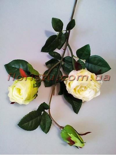 Роза латексная Молочная ветка премиум класса 80 см