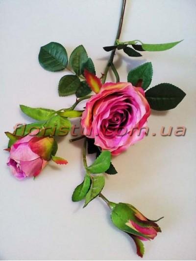 Роза латексная Сиреневая ветка премиум класса 80 см