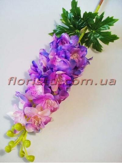 Дельфиниум латексный премиум класса Розово-фиолетовый 82 см