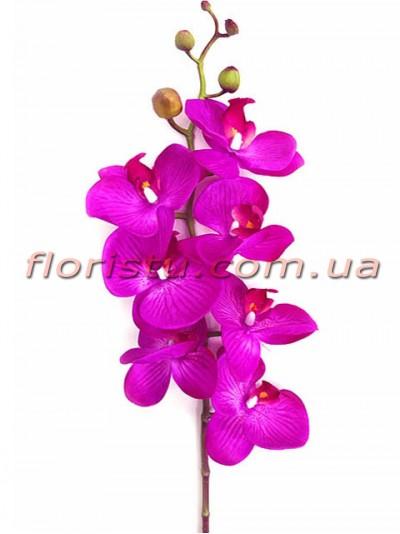 Орхидея фаленопсис латексная Фиолетовая 7 гол. 90 см