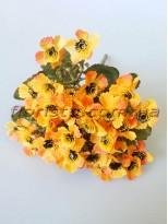 Ромашки Этно оранжевые гол. 2,5 см