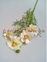 Ромашка полевая искусственная Белая 50 см