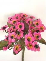 Ромашки Этно розовые гол. 2,5 см