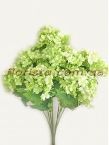Бульдонеж искусственный пышный Нежно-зеленый 43 см