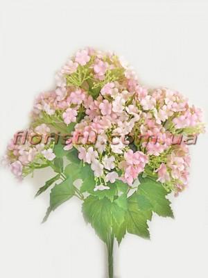 Бульдонеж искусственный пышный Нежно-розовый 43 см