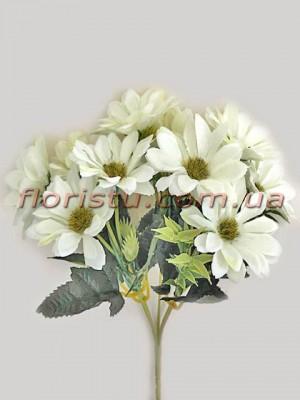 Хризантемы Винтаж белые гол. 5 см
