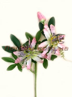 Пассифлора искусственная Розовая 55 см