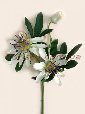 Пассифлора искусственная Белая 55 см