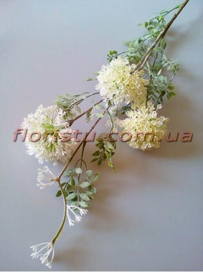 Эхинопс полевой искусственный Белый ветка 88 см