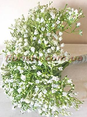 Букет из гипсофилы премиум класса Белой 29 см 16 веток