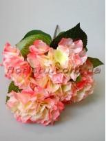 Гортензия премиум нежно-розовая куст 5 гол. 15 см