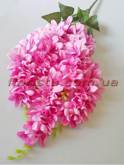 Акация искусственная премиум розовая 70 см 5 веток