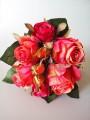 Букет-дублер премиум из роз Эден розово-коралловый 30 см