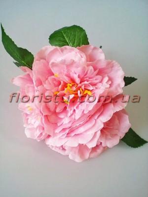 Букет пионов премиум Розовый 3 гол. 13 см