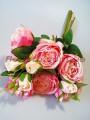 Букет роз гэлакси премиум класса Розовый 46 см