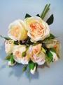 Букет роз гэлакси премиум класса Персиковый 46 см