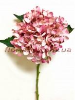 Гортензия искуственная премиум Розовая гол. 18 см 50 см