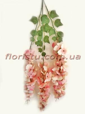 Глициния Винтаж премиум класса Персиково-розовая 90 см