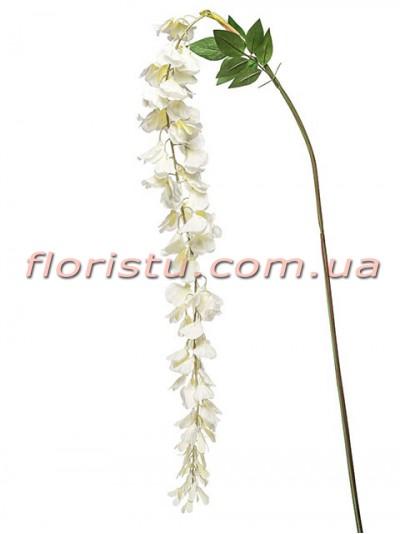 Глициния искусственная белая MAX 150 см
