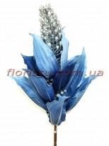 Мединилла искусственная премиум класса Синяя 77 см