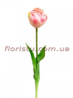 Тюльпан латексный премиум класса Розовый 44 см
