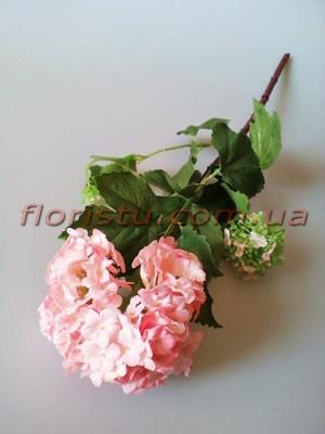 Бульдонеж искусственный премиум класса Нежно-розовый 46 см