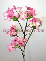 Искусственная веточка Весна розовая 42 см