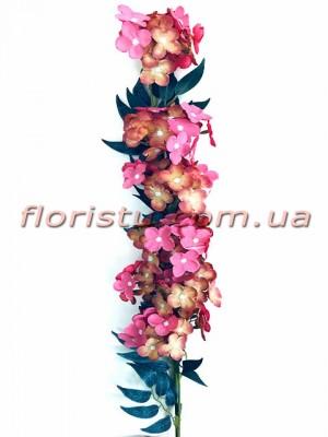 Бульдонеж искусственная ампельная ветка Розово-коричневый 100 см