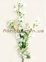 Бугенвиллия искусственная ветка Белая 120 см