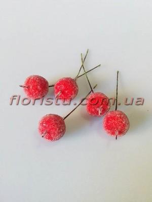 Яблочки мини в сахаре красные 2 см 10 шт.