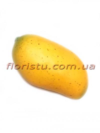 Манго искусственный Желтый 14 см