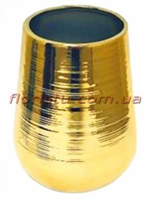 Керамическая ваза Золото 18 см