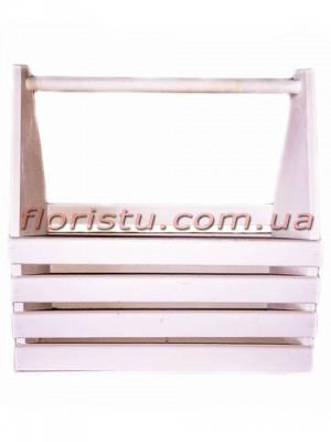 Ящик-кашпо для инструментов Белый 35 см