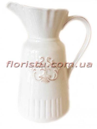 Кувшин керамический для декора Royal Lily 22 см