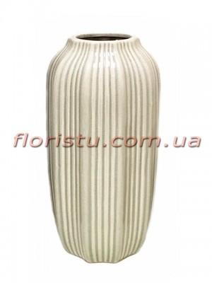 Ваза керамическая Vanilla 33 см