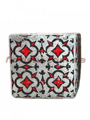 Кашпо керамическое Марокко квадрат 11 см №6