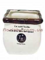 Керамическое кашпо Temps Riche 12/10 см