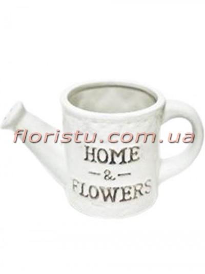 Керамическое кашпо-лейка Home & Flowers 9/18 см