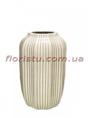 Ваза керамическая Vanilla 24 см