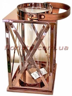 Фонарь-подсвечник металлический премиум класса Оriginal 29 см