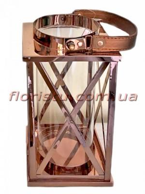 Фонарь-подсвечник металлический премиум класса Оriginal 25 см